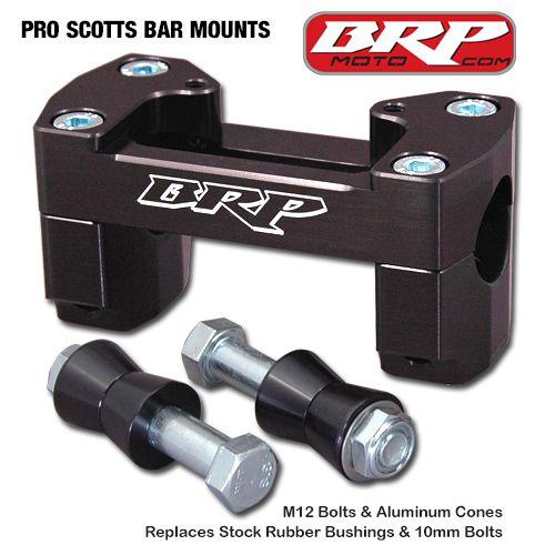 BRP PRO/SCOTTS SOLID BAR MOUNTS 16-20 KTM 125-450 SX/SXF/XC/XCF