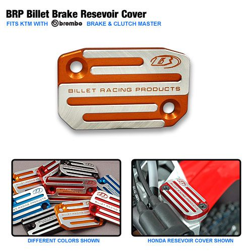 BRP Billet Brake/Clutch Reservoir Cover 00-13 All KTM models W/