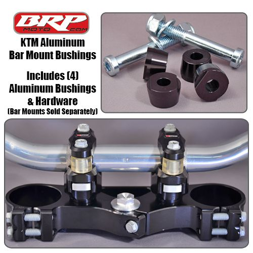 BRP ALUMINUM CONES FOR PHDS BAR MOUNTS 16-20 KTM 125-450 SX/SXF/XC/XCF