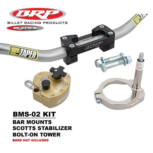 BRP Bar Mounts, Stabilizer & Bolt on Tower Kit 97-13 Gas Gas All