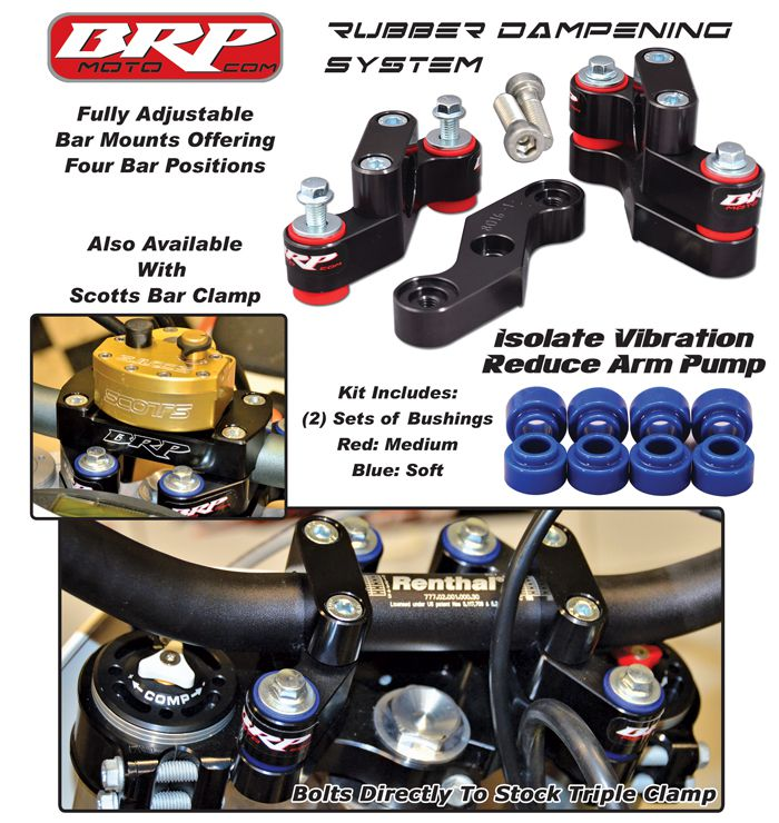 BRP RDS BAR MOUNTS 06-20 KTM 125-530