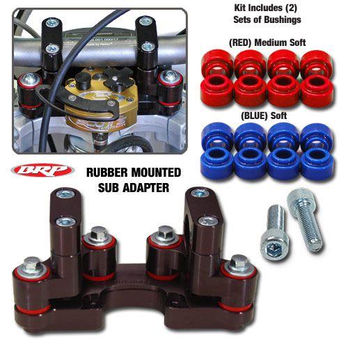 BRP RUBBER MTD SUB MOUNT 10-17 Gas Gas 125-300 EC/XC Models