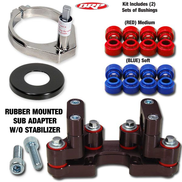 BRP RUBBER MTD SUB MOUNT DM-KIT 10-17 Gas Gas 125-300