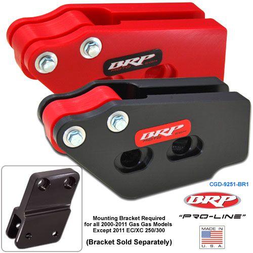 "BRP ""Pro-Line"" Chain Guide Block 00-15 GAS GAS 125-450 CGD-9251-"