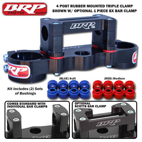 BRP 4 Post Triple Clamp Scotts/Pro SX 17-18 CRF450R/RX