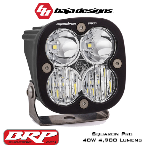 LED Auxiliary Light | LED Pod Light 40W 4,900 Lumens | Baja Designs Squadron Pro