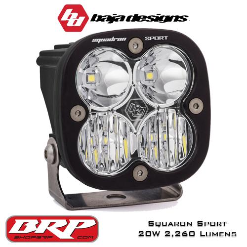 LED Auxiliary Light | LED Pod Light 20W 2,260 Lumens | Baja Designs Squadron Sport