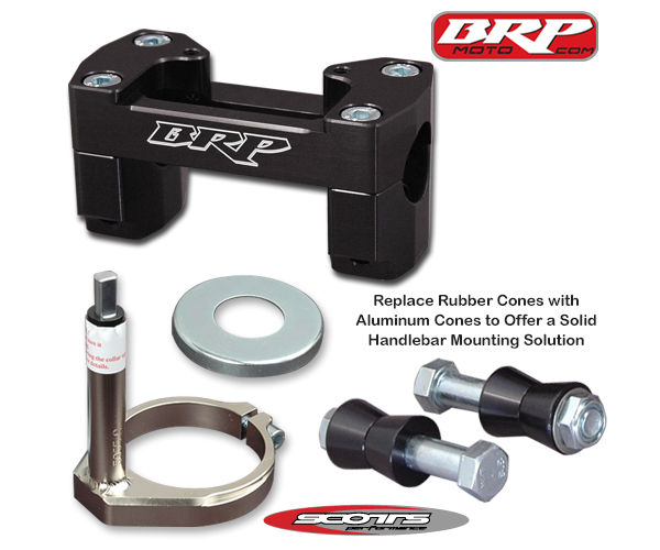 BRP Bar Mounts & Tower Kit for 16-18 KTM 125-450 SX/SXF/XC/XCF