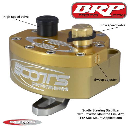 Scotts Steering Stabilizer Reversed (SDD-4200-40R)