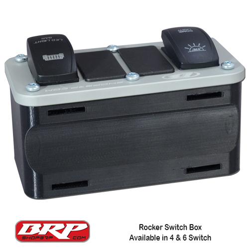 BRP Auxiliary Rocker Switch Box