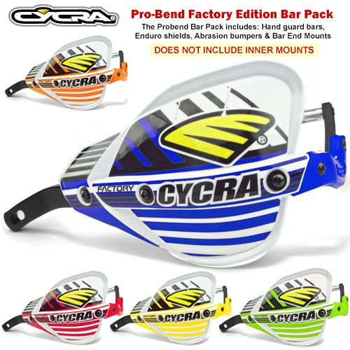 CYCRA Hand Guard Bar Pack, Probend Factory Edition Hand Guards
