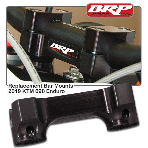 19-20 KTM 690 Enduro Rubber Mounted Replacement Bar Mounts