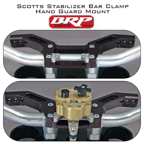 BRP SCOTTS STABILIZER - HAND GUARD MOUNT ALL 00 -15 KTM 125-530