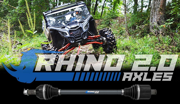 Can-Am Maverick X3 Rhino 2.0 Rear Axles | Can Am Parts