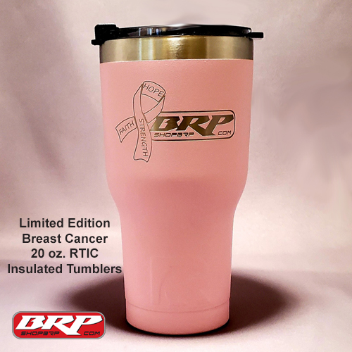 Billet Racing Products - Breast Cancer RTIC Tumbler