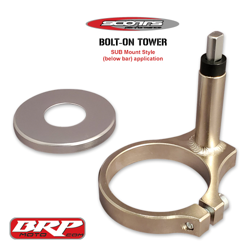 SCOTTS SUB MOUNT Bolt on Tower Yamaha Tenere 700